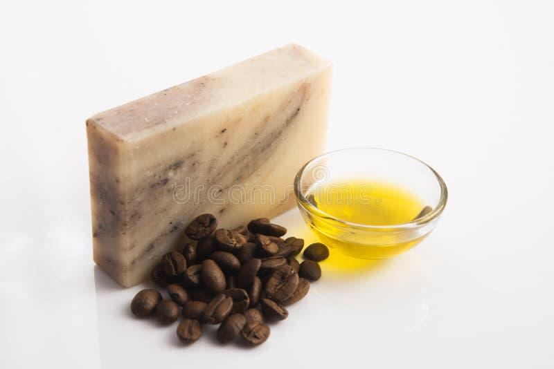 Мыло кофе стоковое изображение