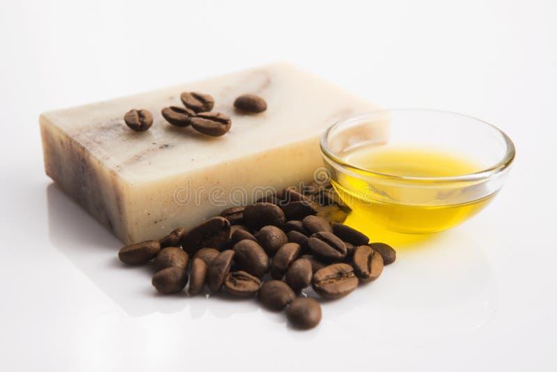 Мыло кофе стоковая фотография
