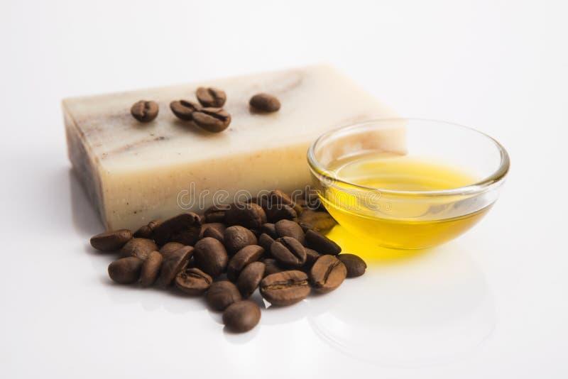 Мыло кофе стоковая фотография rf