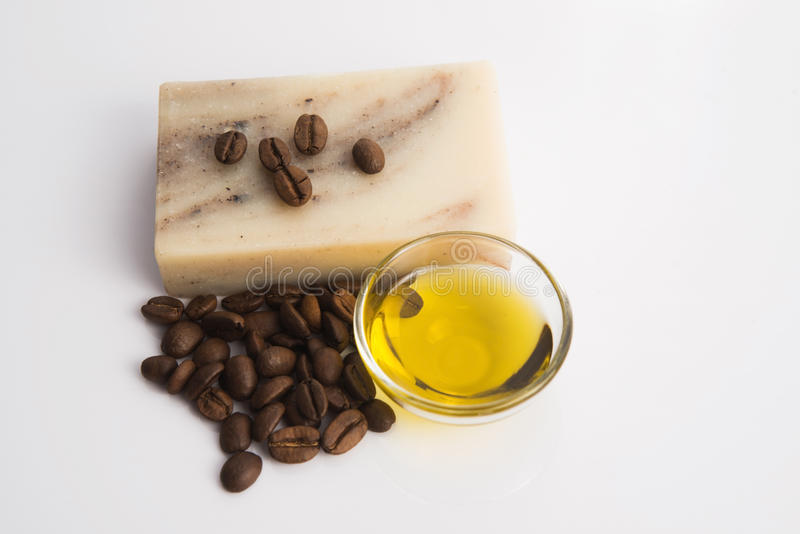 Мыло кофе стоковое фото rf