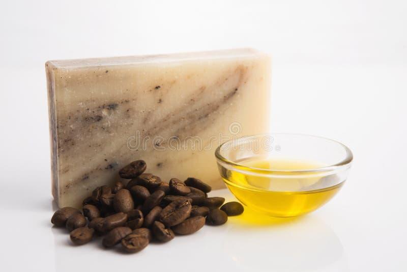 Мыло кофе стоковые изображения