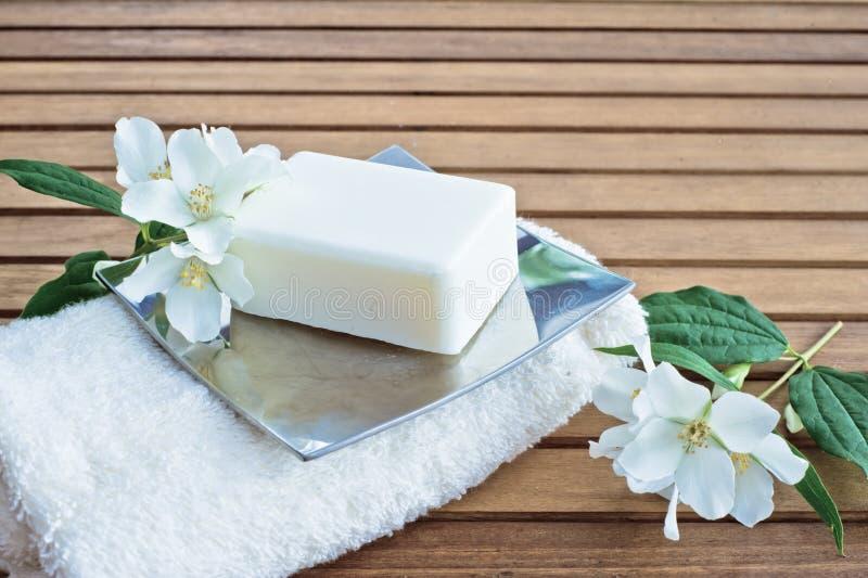 Мыло цветка стоковые фото