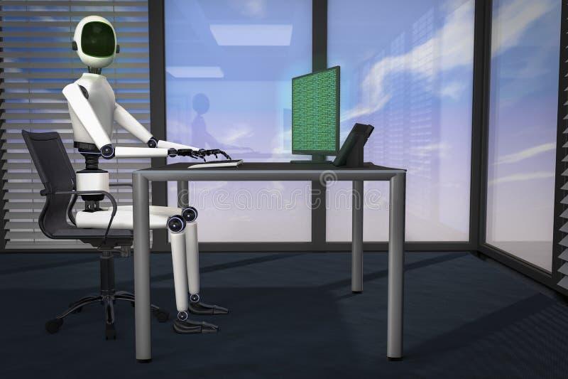 Мы роботы иллюстрация вектора