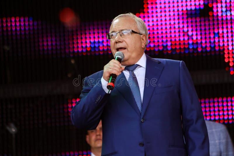 Мэр Krivoy Rog Юрия Vilkul стоковые изображения rf