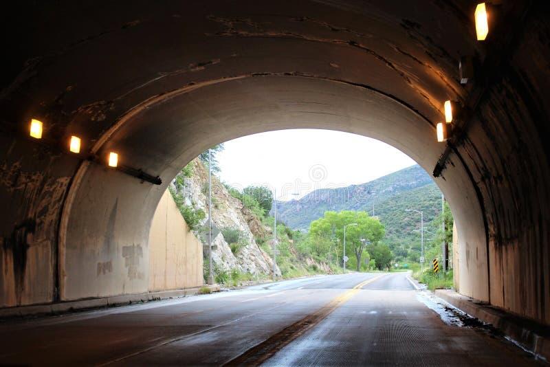 Мюле Пасс Туннель, Бисби, Аризона, Соединенные Штаты стоковая фотография