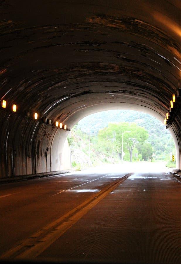 Мюле Пасс Туннель, Бисби, Аризона, Соединенные Штаты стоковое фото