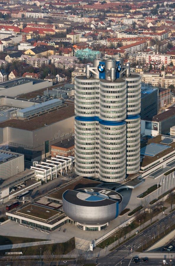Мюнхен, Германия - 10-ое марта 2016: Штабы BMW в Мюнхене стоковое фото