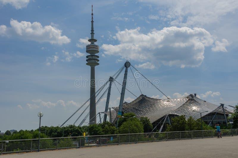 Мюнхен, Олимпия-zentrum стоковые фото