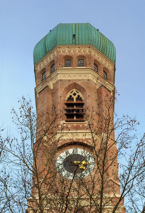 Мюнхен, Frauenkirche, Бавария стоковая фотография rf