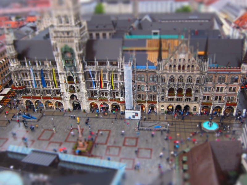 Мюнхен Neues Rathaus стоковая фотография rf