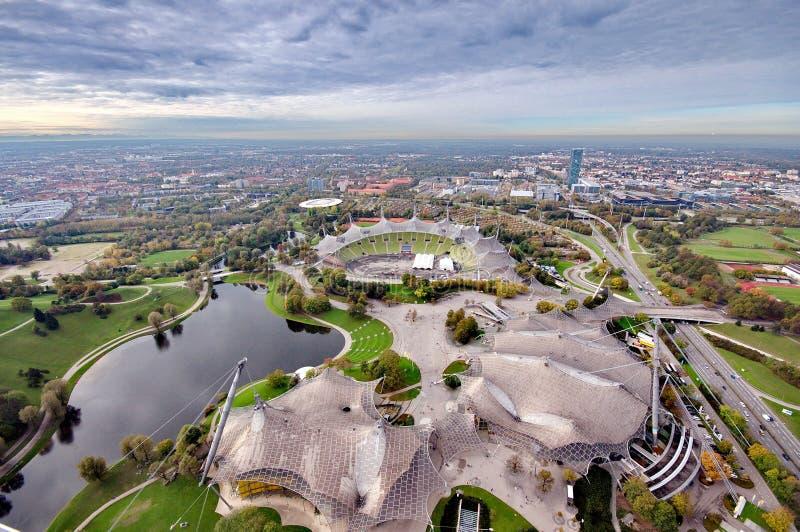 Мюнхен Olympiapark стоковое фото
