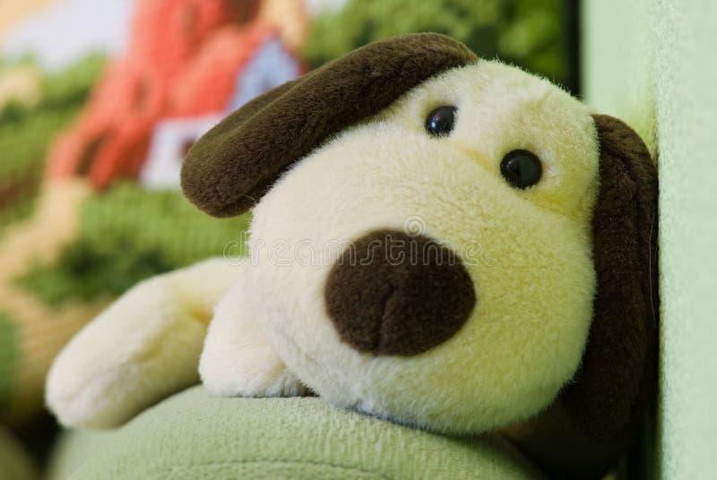 Мягкая игрушка собаки Стоковые Фото