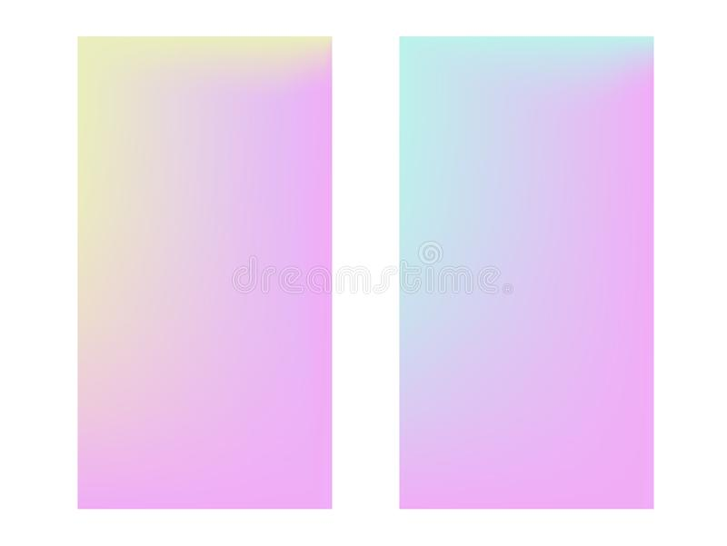 Мягкая предпосылка цвета Ультрамодный градиент стоковая фотография