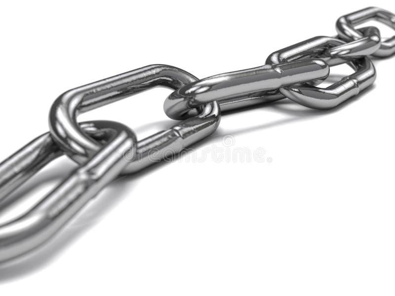 мягкая сталь для цепей стоковая фотография