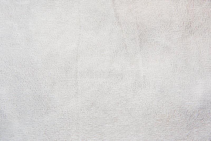 Мягкая текстура полотенца фокуса для предпосылки стоковое изображение