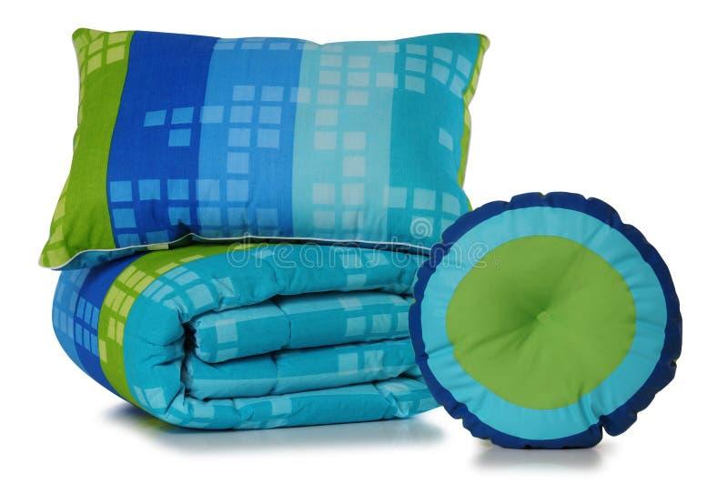 Предметы постельных принадлежностей. стоковое изображение