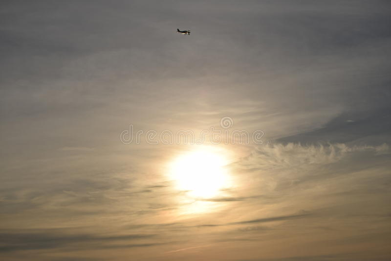 Мягкий вечер Солнце стоковое фото