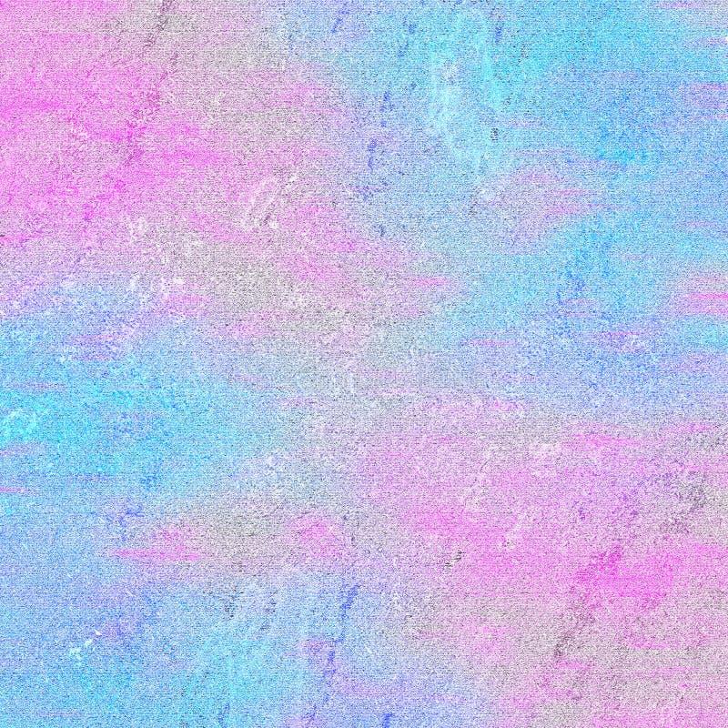Мягко голубая и розовая абстрактная предпосылка иллюстрация штока