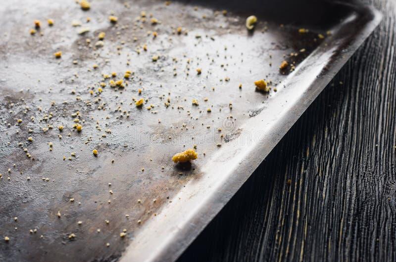 Мякиши на печь листе стоковые изображения