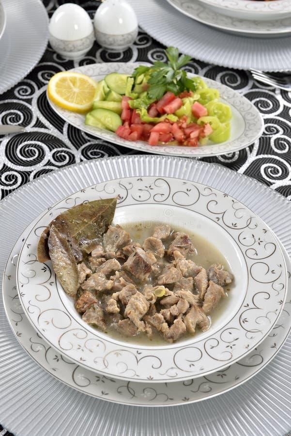 Мясное блюдо стоковое изображение rf