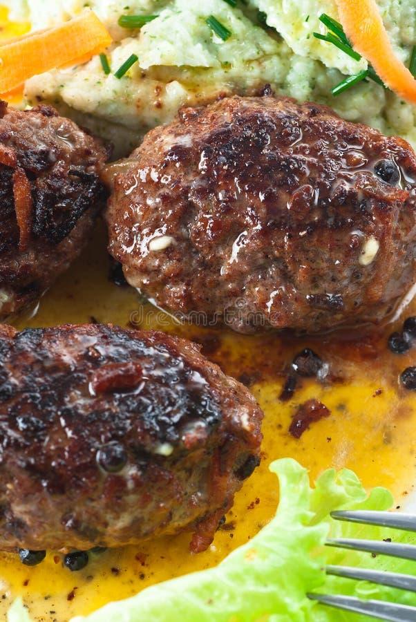 мясо семенило крены стоковые фотографии rf