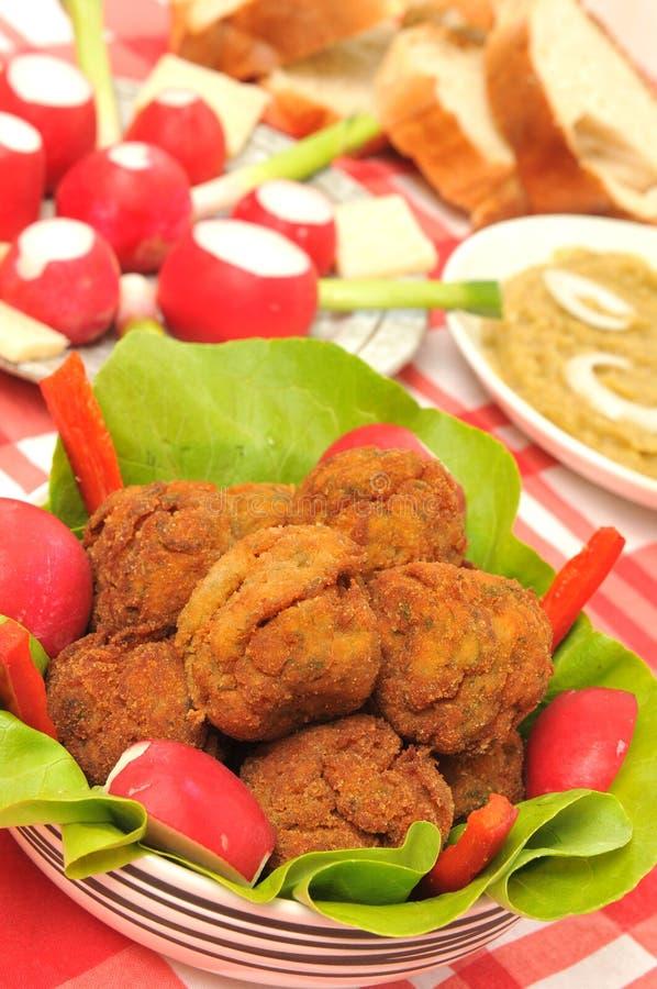 мясо шариков традиционное стоковые изображения