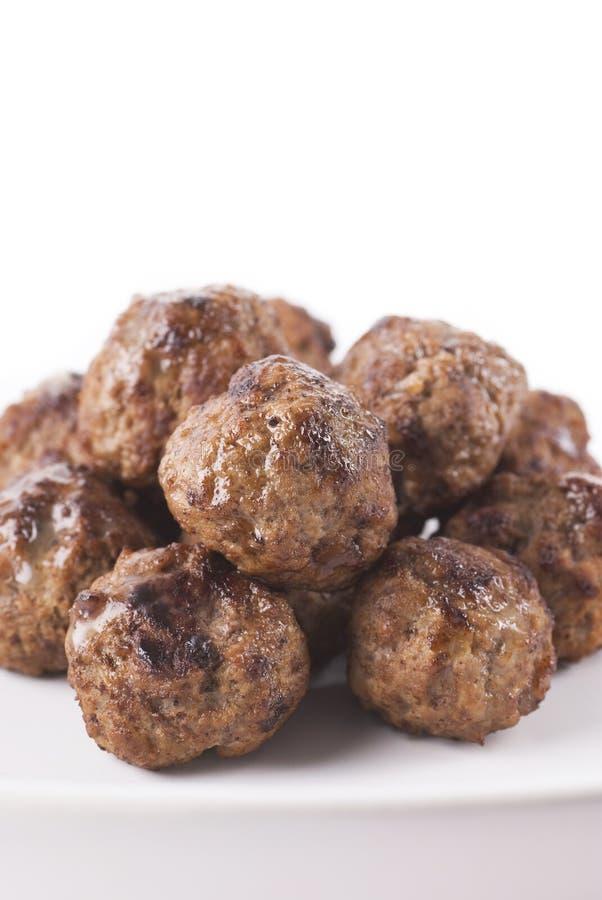 мясо шариков стоковое изображение rf
