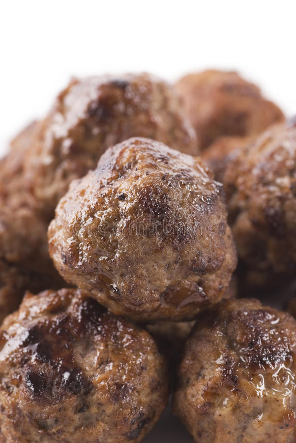мясо шариков стоковые фото
