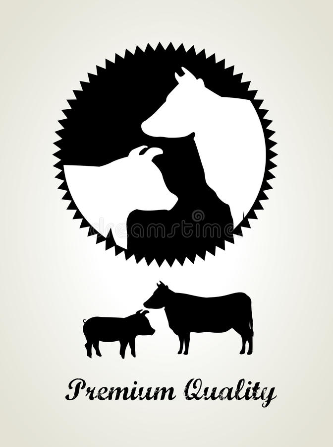 Мясо иллюстрация штока