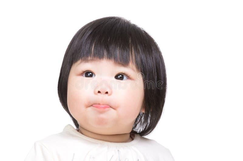 Download Младенец всасывая губы стоковое фото. изображение насчитывающей ребенок - 37926706