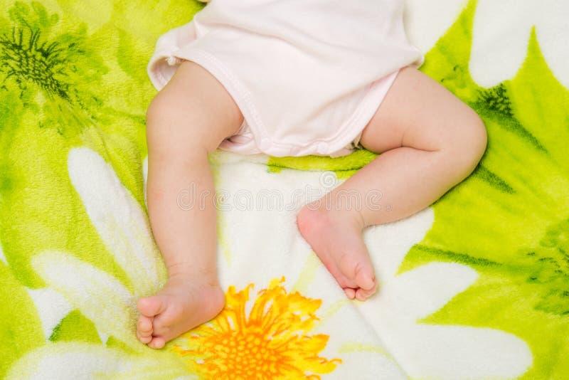 Младенец малых ног стоковое изображение rf