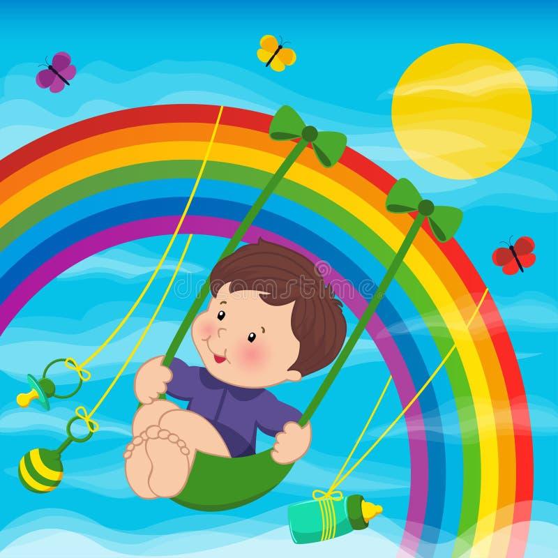 Картинки на радуге катаются