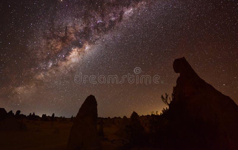 Млечный путь башенк стоковое фото