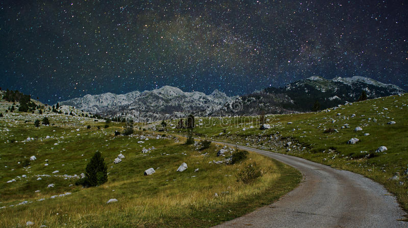 Млечный путь стоковое изображение rf