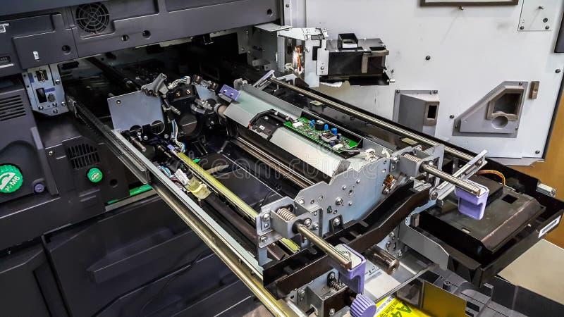 ?ulti-functie printermachine klaar voor druk royalty-vrije stock foto