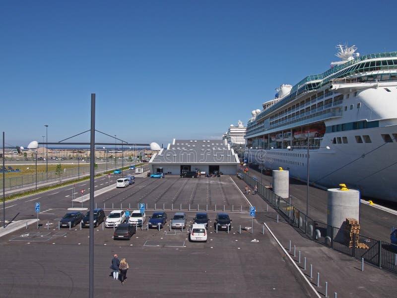 Набережная океана - Копенгаген Дания стоковое изображение
