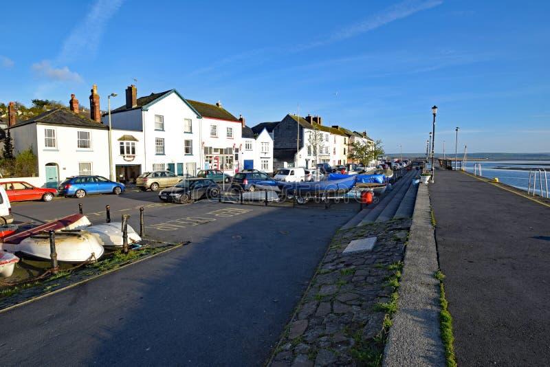 Набережная Appledore, северный Девон, Англия стоковая фотография