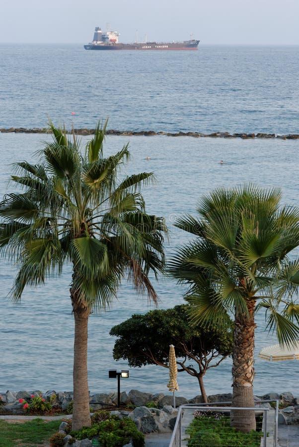 Download набережная limassol стоковое изображение. изображение насчитывающей история - 6865197