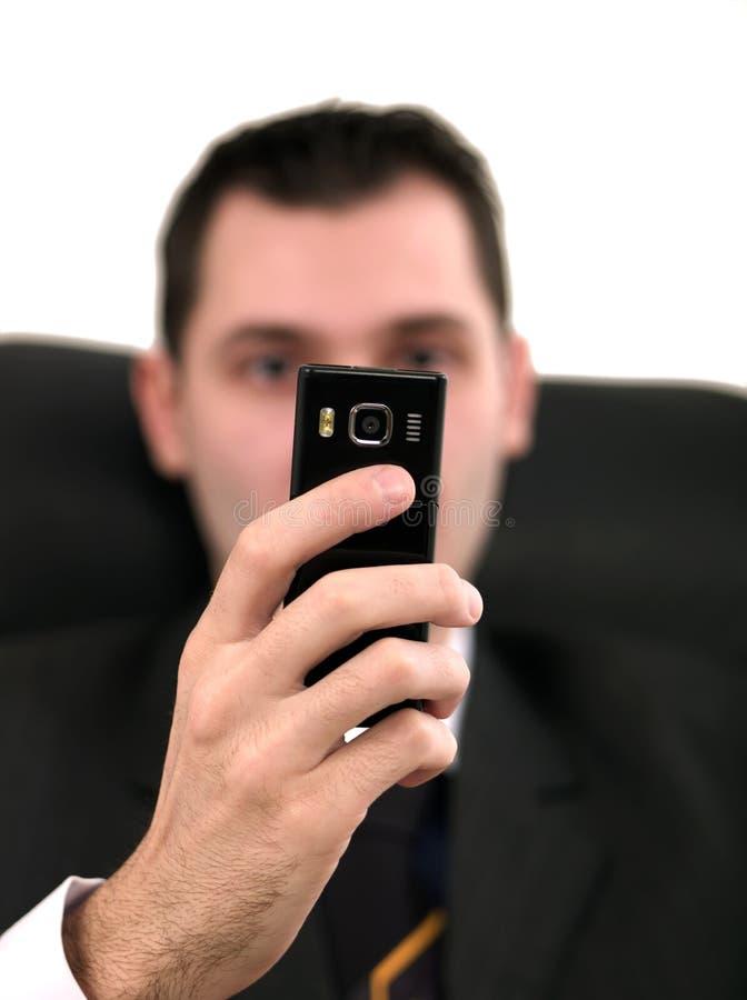 Набирать телефона стоковая фотография rf