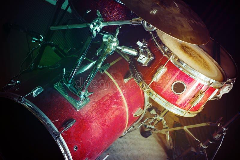 набор барабанчика старый стоковое фото rf