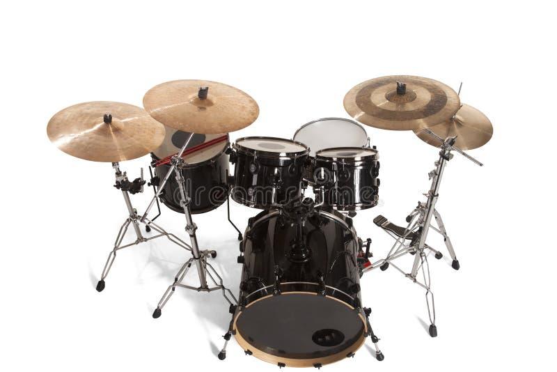 Набор басового барабанчика стоковые изображения