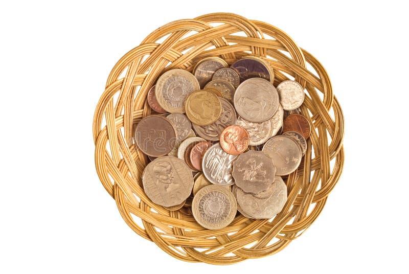 Набор валют Стоковое Изображение RF