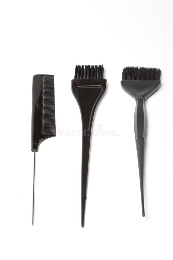 набор волос стоковое изображение