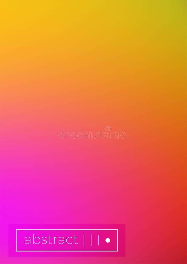 набор крышки вектора сочные ультрамодные минимальные обои бесплатная иллюстрация