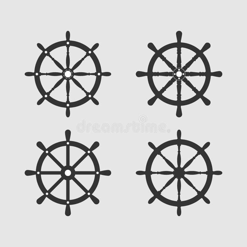 Набор руля корабля r бесплатная иллюстрация