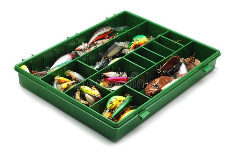 набор рыболовства стоковая фотография rf