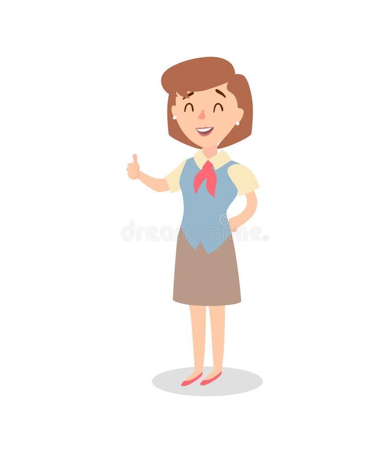 Набор символов коммерсантки Одушевленный характер Женский конструктор персонажа Различные позиции женщины вектор комплекта сердец бесплатная иллюстрация
