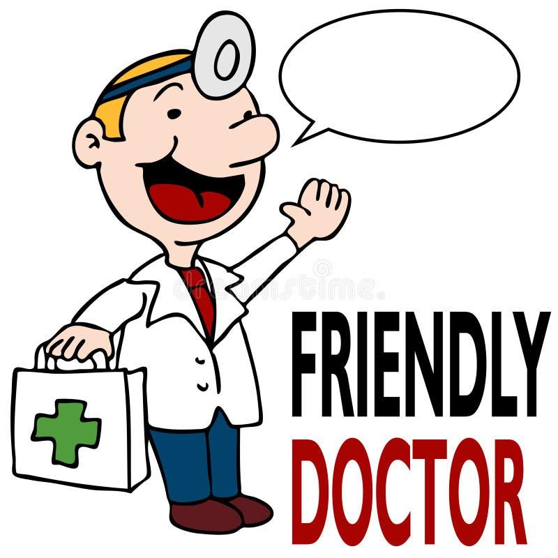 набор удерживания доктора содружественный медицинский иллюстрация штока