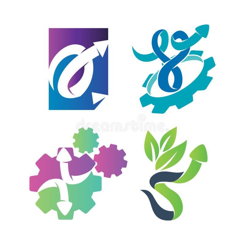 Набор цветов для вектора направления стрелки наконечников стрелки наконечника бумаги бесплатная иллюстрация