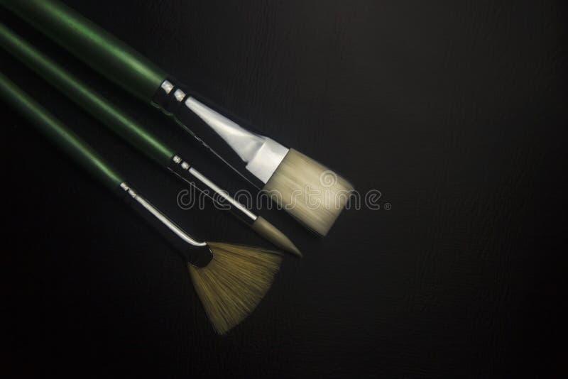 Набор Paintbrush стоковая фотография rf